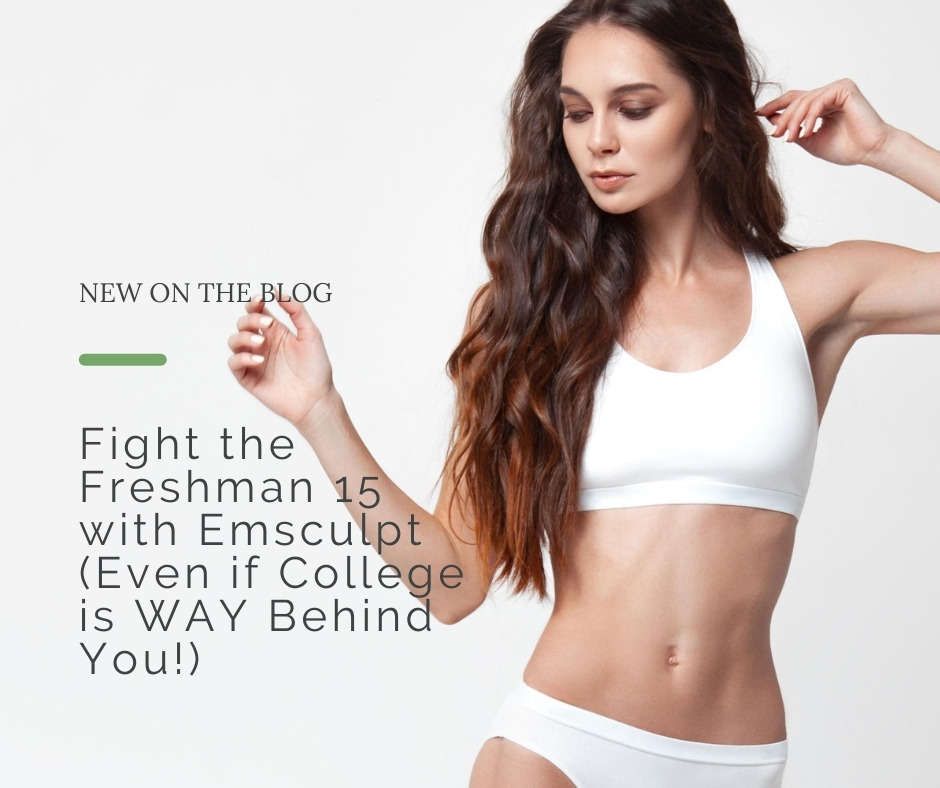 Fight the Freshman 15 with Emsculpt   Dr. Shaun Parson, Scottsdale