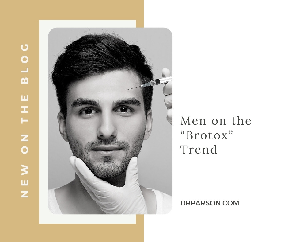 "Men on the ""Brotox"" Trend   Dr. Shaun Parson, Scottsdale"
